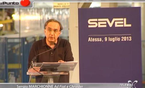 """Il Punto """"Sevel, Marchionne annuncia 700 milioni di investimenti"""""""