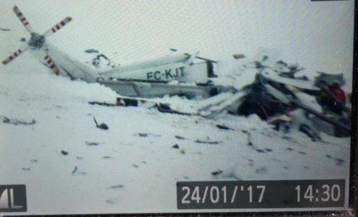 Elicottero 118 precipitato a Campo Felice: tutti morti, ecco i nomi