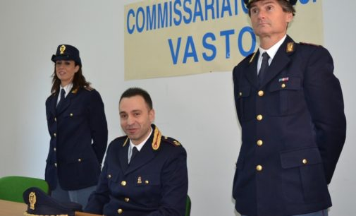 Vasto, Capaldo è il nuovo dirigente del Commissariato di Polizia