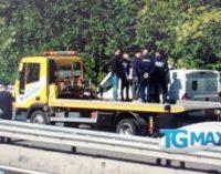 Fallito assalto con spari a portavalori su A14, 4 in fuga