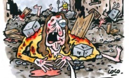 Charlie Hebdo: la denuncia di Amatrice non ci fa paura