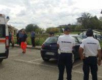San Salvo, operaio comunale cade da tetto scuola