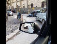 A Chieti è emergenza dissesto idrogeologico, una nuova voragine si è aperta in piazza Garibaldi