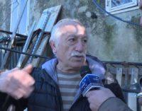 A Fossacesia frana minaccia cinque famiglie in via Bonavia