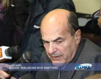 Bersani a Lanciano: Berlusconi deve dimettersi