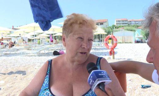 Caldo: l'estate degli anziani al mare