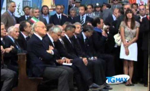 Chieti, i funerali solenni di Remo Gaspari