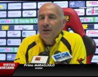 Conferenza stampa Virtus Lanciano 26 aprile 2016 parla mister Maragliulo