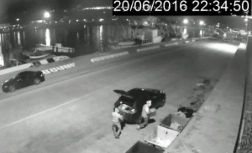 Getta elettrodomestici nel porto di Ortona, multa da 600 euro