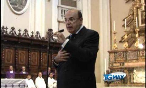 Funerali Gaspari, intervento del figlio Lucio