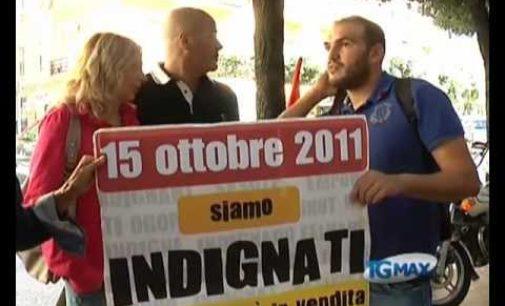 """Gli """"indignati"""" manifestano anche a Pescara"""