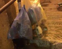 Lanciano: senza mastelli, rifiuti indifferenziati in centro storico