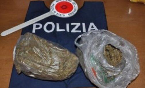 Droga nei pacchetti di sigarette, arrestato