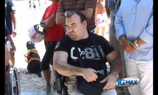 Montesilvano: una spiaggia per i disabili