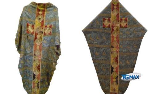 Restaurata la Casula di Lanciano, esposta al Museo Diocesano
