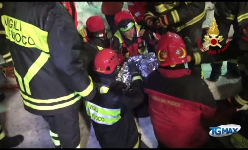 Rigopiano: i 9 superstiti ricoverati in ospedale sono in buone condizioni