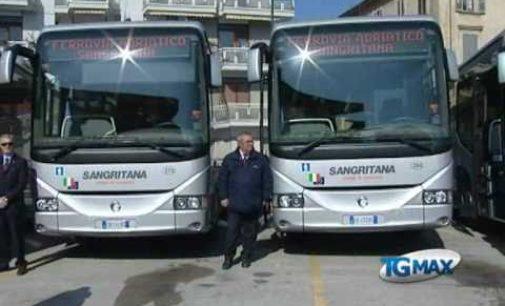 Sangritana, arrivano 25 nuovi autobus