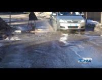 Scivolate sul ghiaccio e buche per le strade, Lanciano conta i danni