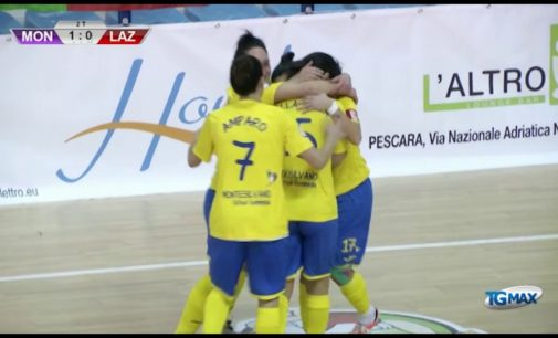 Supercoppa futsal, Montesilvano calcio a 5 vince ancora
