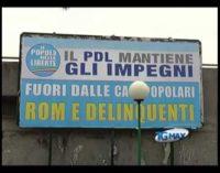 Unar a Pescara per manifesto Pdl