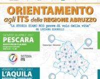 """<div class=""""dashicons dashicons-camera""""></div>Studenti agli incontri di orientamento degli istituti tecnici superiori abruzzesi, a Pescara e a L'Aquila"""