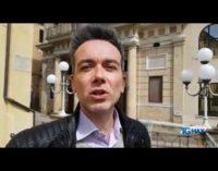 """<div class=""""dashicons dashicons-video-alt3""""></div>Fascio littorio sul teatro Fenaroli fa discutere nella ricorrenza del 25 aprile a Lanciano"""