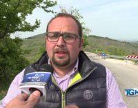 """<div class=""""dashicons dashicons-video-alt3""""></div>Frana ancora la provinciale tra Torricella peligna e Roccascalegna, l'appello del sindaco Giangiordano"""