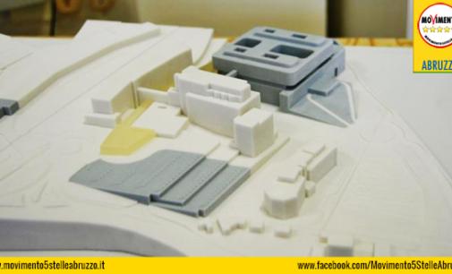 """<div class=""""dashicons dashicons-camera""""></div>Ospedale nuovo con project financing a Chieti, da D'Alfonso ultimatum a Flacco"""