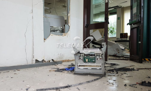 """<div class=""""dashicons dashicons-video-alt3""""></div>Assalto con esplosione al bancomat della Caripe in località Piazzano di Atessa"""