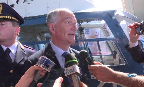 """<div class=""""dashicons dashicons-video-alt3""""></div>Capo della Polizia Franco Gabrielli in visita in Abruzzo, a Pescara e a Montesilvano"""