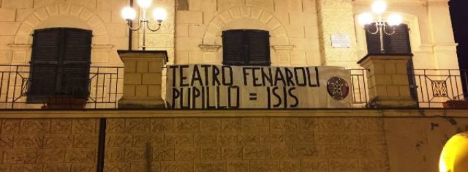"""<div class=""""dashicons dashicons-camera""""></div>Teatro Fenaroli, sabato si coprono i fasci littori nella giornata nazionale Anpi a Lanciano"""