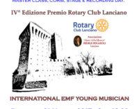 """<div class=""""dashicons dashicons-camera""""></div>Estate Musicale Frentana premia giovani talenti domenica 21 maggio a Lanciano"""