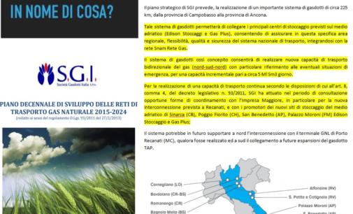 """<div class=""""dashicons dashicons-camera""""></div>Metanodotto Larino Chieti, Nuovo Senso Civico replica al sindaco Di Primio e SGI"""
