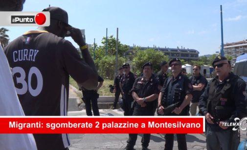 "<div class=""dashicons dashicons-video-alt3""></div>Sgombero migranti a Montesilvano LIVE Il Punto"