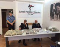 """<div class=""""dashicons dashicons-video-alt3""""></div>Incensurato con 13 kg di droga, arrestato a Pescara"""