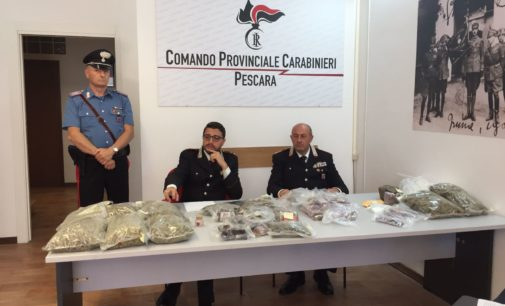 "<div class=""dashicons dashicons-video-alt3""></div>Incensurato con 13 kg di droga, arrestato a Pescara"