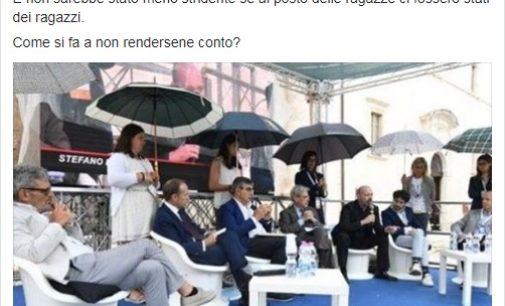 """<div class=""""dashicons dashicons-camera""""></div>Questa foto è una brutta immagine, il commento del presidente Boldrini alle ombrelline di Fonderia Abruzzo"""