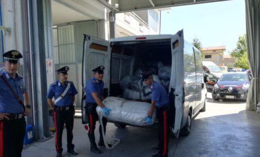 """<div class=""""dashicons dashicons-camera""""></div>Una tonnellata di marijuana trovata sul lungomare di San Vito Chietino in un furgone abbandonato"""