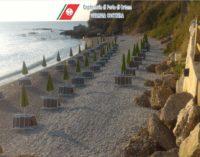 """<div class=""""dashicons dashicons-camera""""></div>Occupazione abusiva della spiaggia su suolo demaniale marittimo a Ripari di Giobbe di Ortona, interviene la Guardia Costiera"""