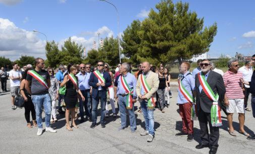 """<div class=""""dashicons dashicons-camera""""></div>Migranti: a San Salvo va in scena la protesta dei sindaci"""