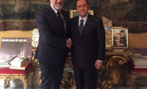 """<div class=""""dashicons dashicons-camera""""></div>Il sindaco Di Primio aderisce a Forza Italia e con Berlusconi parla dei futuri appuntamenti elettorali, politiche e regionali"""