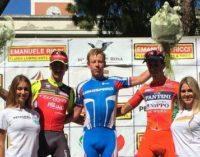"""<div class=""""dashicons dashicons-camera""""></div>Ciclismo: il russo Sergei Shilov vince in volata la 70/a edizione del Trofeo Matteotti a Pescara"""