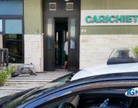 """<div class=""""dashicons dashicons-video-alt3""""></div>Assalto al bancomat della Carichieti di San Vito Chietino alle 3 della notte"""