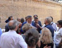 """<div class=""""dashicons dashicons-camera""""></div>Biblioteca De Meis, D'Alfonso promette 300 mila euro dalla Regione Abruzzo per il completamento del recupero"""