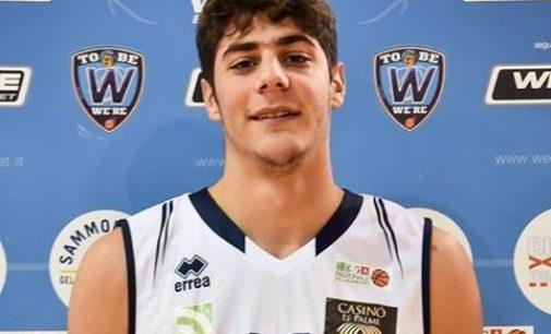 """<div class=""""dashicons dashicons-camera""""></div>Basket, Alessio Di Carmine è la terza conferma alla We're Ortona"""