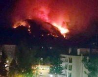 """<div class=""""dashicons dashicons-camera""""></div>Incendio doloso al Monte Morrone, individuato il punto dove è stato appiccato il fuoco"""