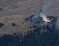 """<div class=""""dashicons dashicons-video-alt3""""></div>Parco della Majella ancora in fiamme: De Sanctis, servono 700 uomini dell'Esercito"""