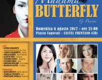 """<div class=""""dashicons dashicons-video-alt3""""></div>Madama Butterfly in piazza a Castel Frentano"""