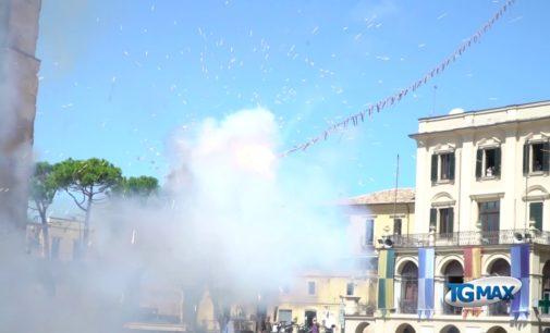 """<div class=""""dashicons dashicons-video-alt3""""></div>Al via le Feste di settembre: presentato il cartellone completo, il video con gli spari della Novena sulla Torre civica"""