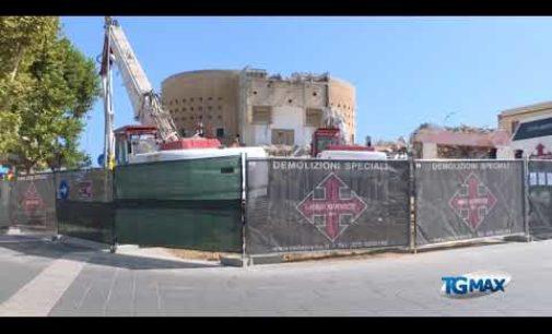 """<div class=""""dashicons dashicons-video-alt3""""></div>Palazzo Sirena demolito: il sindaco Luciani, """"carte in regola"""""""